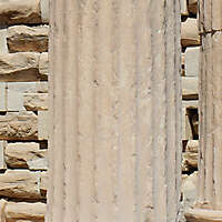 greek pillar white stone 3
