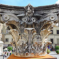 romanian column capital