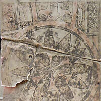 old iscription on stone plate 7