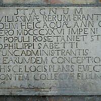 stone plate latin