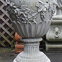 decorated old vase 2