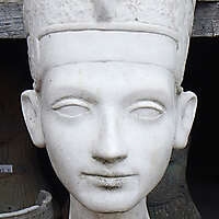 Egyptian queen head Nefertiti