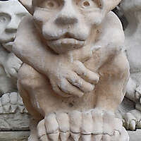 Gargoyle Baby Demon Statue Gothic 2