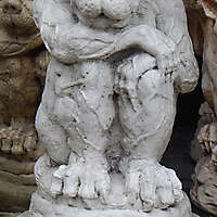 Gargoyle Baby Demon Statue Gothic 3