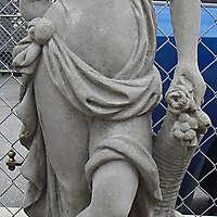 italian statue woman 3