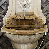 Old Roman european fountain 2