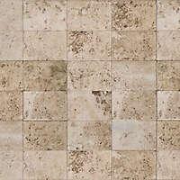 white stone big tiles