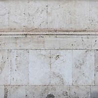 old clean white italian stone tiles wall 2