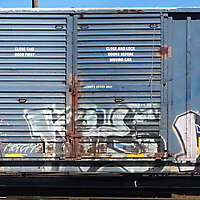 train wagon rusty 21