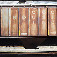 train wagon rusty 8
