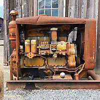 vintage diesel generator