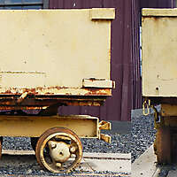 vintage rocker loader wagon