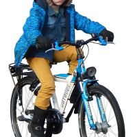 kid on bike alpha