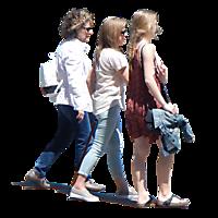 group of people walking png. Urban People Group 2 Of Walking Png