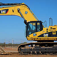caterpillar excavator new