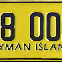 cayman car plate 3