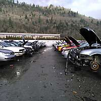 old cars in junkyard 3