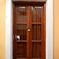 wood window italian style