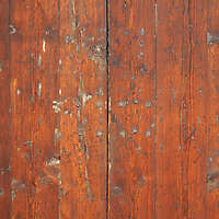 old red wood panel