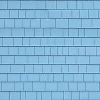 blue paint shingles