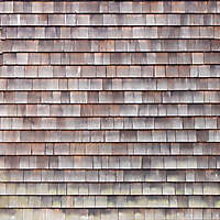cedar shingles weathered