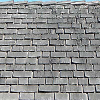 cracked wood shingles