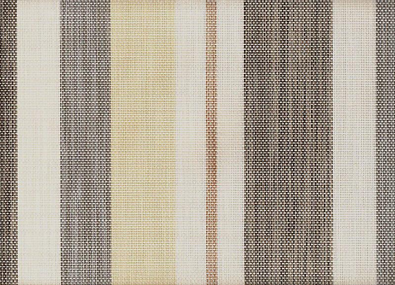 Brown Strips Sintetic Fabric