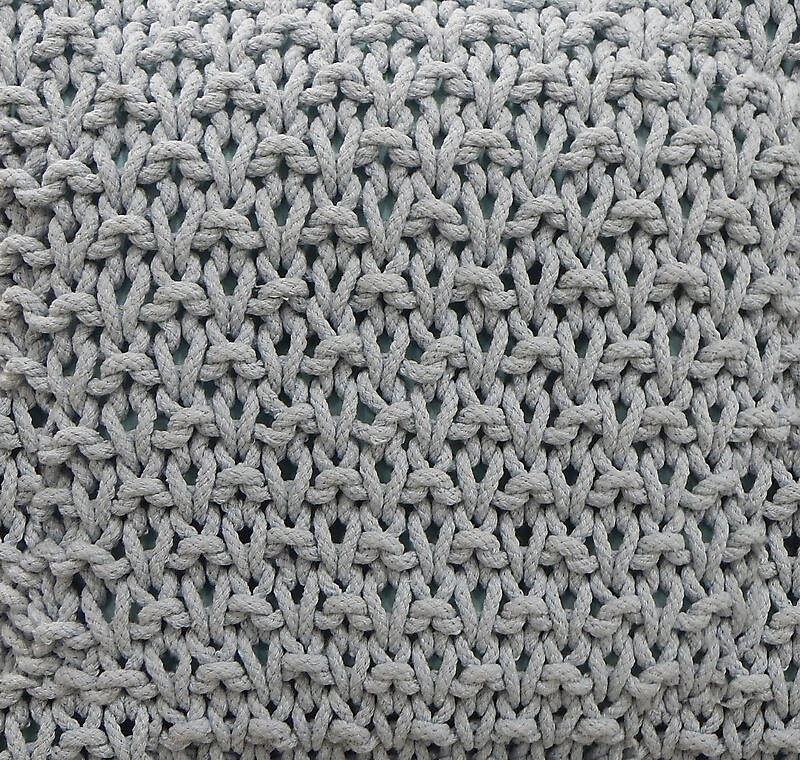 Texture Knots And Knits Fabric Grey Fabric Lugher
