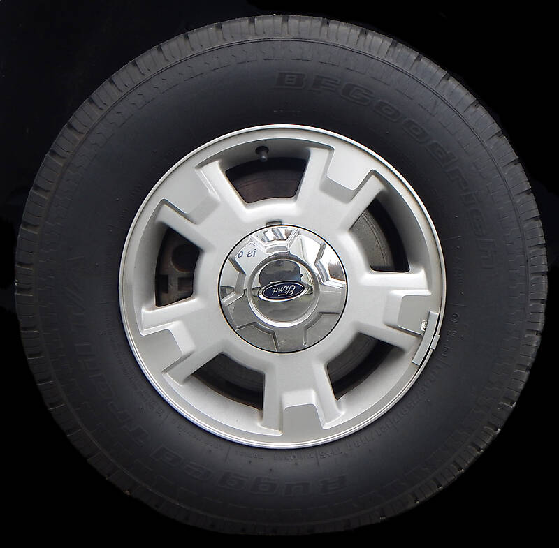 Used Car Tires >> Texture - ford truck wheel and tyre - Vehicles - luGher Texture Library