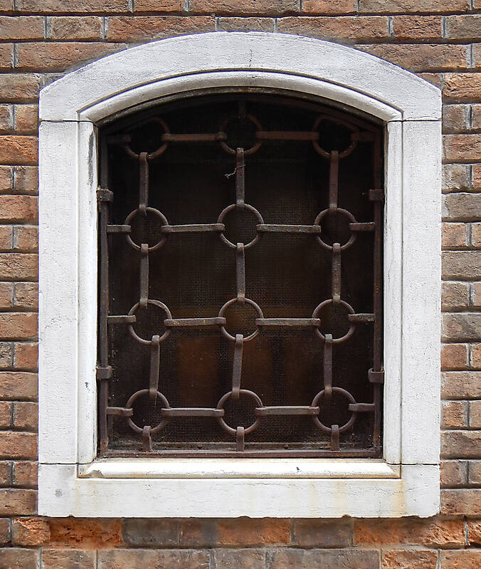 Texture Old Window From Venice 19 Windows Lugher
