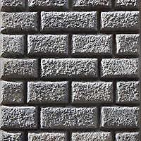 bossage plaster corrugated bricks