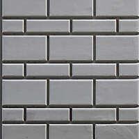 bossage plaster various size bricks