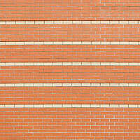 red bricks with lines