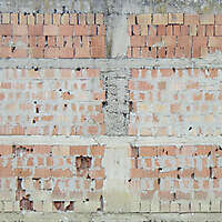 italian bricks old and broken dirt 3
