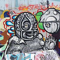 graffiti big head