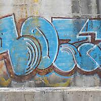 wall graffiti numbers