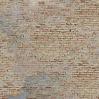 old medieval yellow bricks
