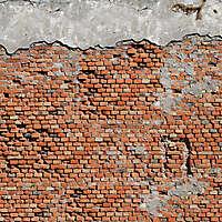 old red bricks wall Dubrovnik