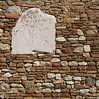 old wall italian 1700 architecture 10