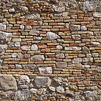old wall italian 1700 architecture 13