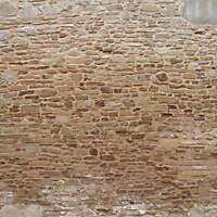 old wall italian 1700 architecture 1