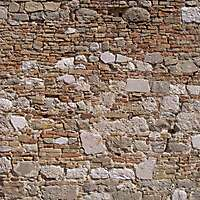 old wall italian 1700 architecture 5