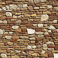 old wall italian 1700 architecture 8