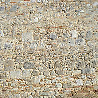 old wall tile from rome downtown 1
