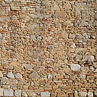 old wall tile from rome downtown 5