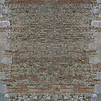 old wall tile italian 1700 architecture 17