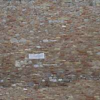 old wall tile italian 1700 architecture 23