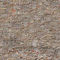 medieval dirt stone wall dark 3