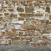medieval dirt stone wall dark 5