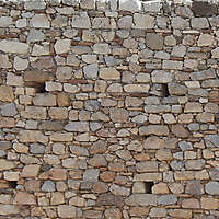 medieval messy stones wall 11